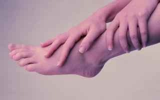Как лечится онемение ноги от колена до стопы