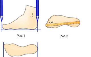 Как можно узнать размер обуви по длине стопы