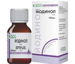 Как применять препарат Йодинол от грибка ногтей