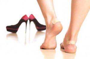 обувь натирает пятки