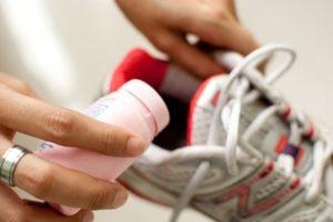 обработка обуви при грибке