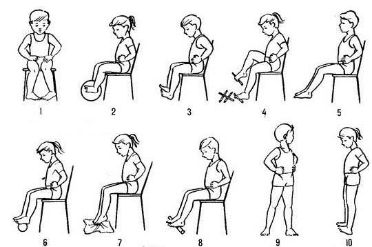Гимнастика для ребенка при сколиозе и плоскостопии