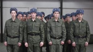 служить в армии