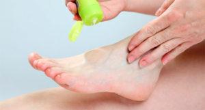 опрелости между пальцами ног